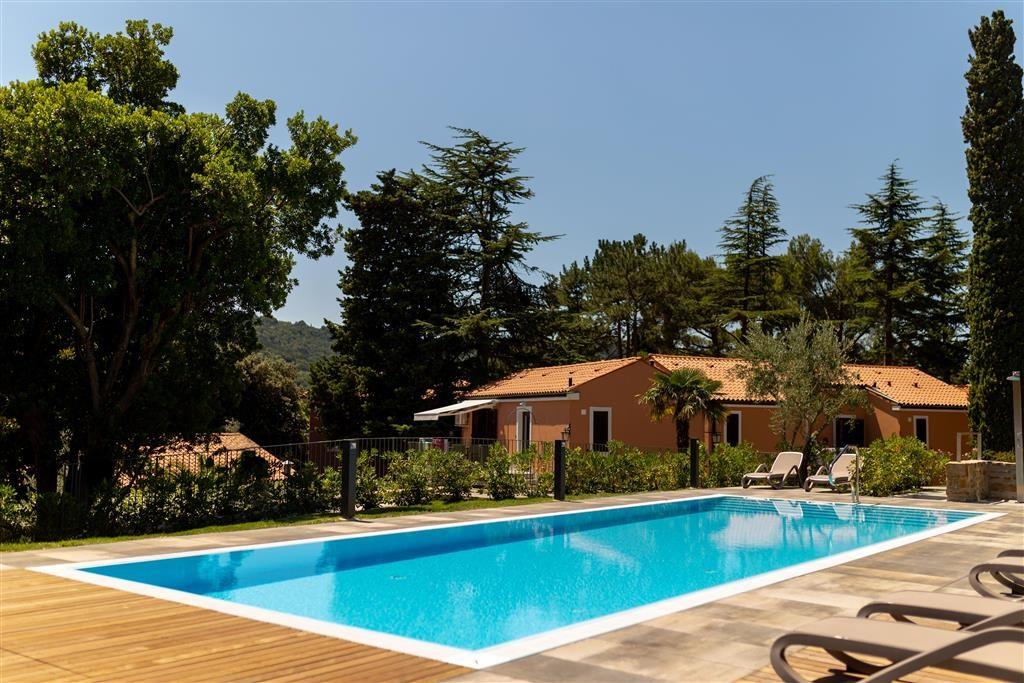 bazén u hotelu Laguna